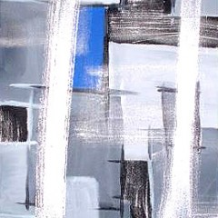 Silver Grey and Blue